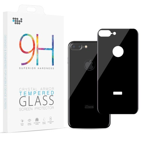 Iphone 8 Plus Back Cover Tempered Glass Rare Plate Protector