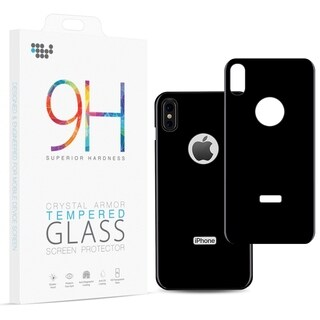 Iphone X Back Cover Tempered Glass Rare Plate Protector