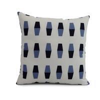 20 x 20 inch Bowling Pins Geometric Print Pillow