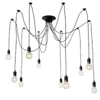 LNC Adjustable Chandeliers Modern Chandelier Lighting 10-Light Pendant Lights