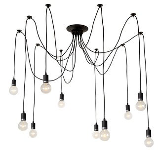 LNC Adjustable Chandeliers Modern Chandelier Lighting 10-Light Pendant Lights