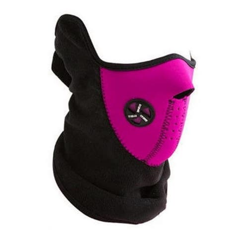 Sport Force Face and Neck Ski Mask-(One Pack Pink)