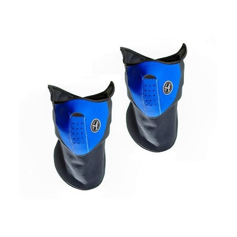 Sport Force Face and Neck Ski Mask-(Two Pack Blue)