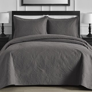 Kotter Home Brooke 3-piece Quilt / Coverlet Set