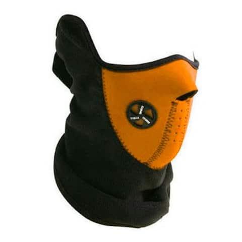 Sport Force Face and Neck Ski Mask-(One Pack Orange)