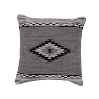 Handmade Herat Oriental Indo Cotton 20'' Throw Pillows (Set of Two)