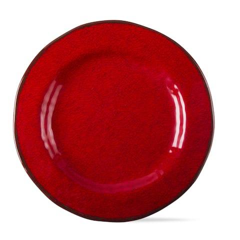 TAG Veranda Melamine Dinner Plate Set of 4 Red