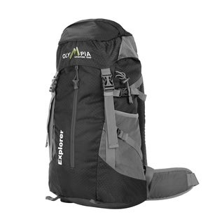 """Link to Olympia USA Explorer 20"""" Polyester Outdoor Daypack 22L - Lime Similar Items in Backpacks"""