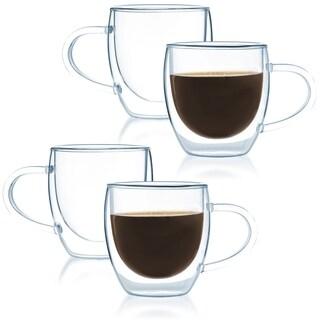 JavaFly Bistro Mug with Handle (Set of 2)