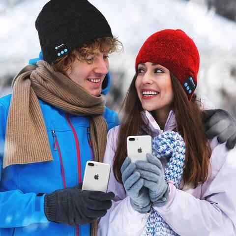 Wireless Soft Warm Bluetooth Beanie