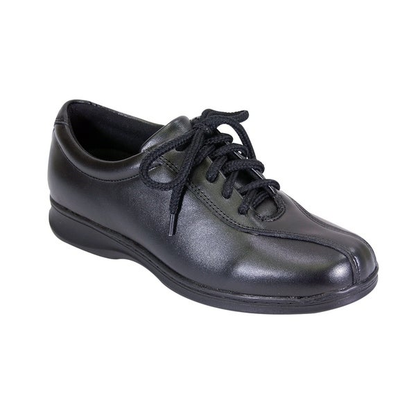 24 HOUR COMFORT Valerie Women Extra Wide Width Oxford Lace Up Shoes. Opens flyout.