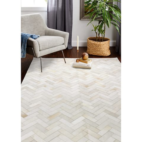 Quentin Cowhide Area Rug - 10' x 14'