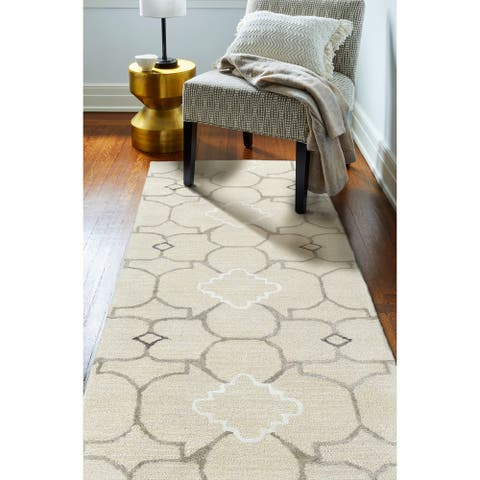 Nina Contemporary Hand Tufted Area Rug