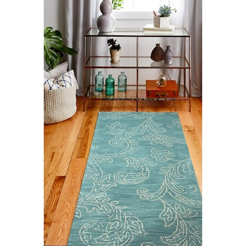 Roseberry Transitional Hand Tufted Area Rug