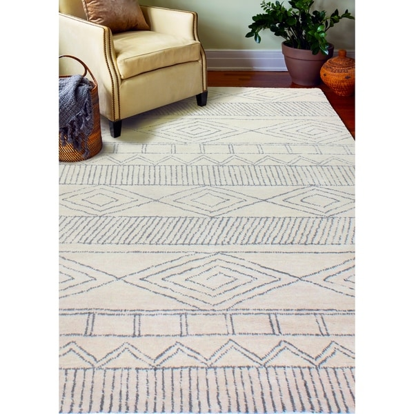 Ramsey Transitional Hand Tufted Area Rug. Opens flyout.