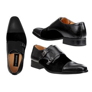 758843e6289 Buy Black Men s Loafers Online at Overstock