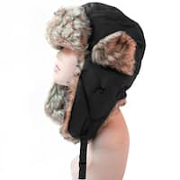 Pop Fashionwear Women's Trapper Winter Ear Flap Hat