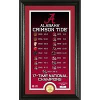 "Alabama Crimson Tide ""Legacy"" Bronze Coin Photo Mint - Multi-color"