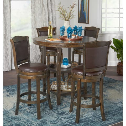 Buy bar pub table sets online at overstock our best dining simple living adam pub set watchthetrailerfo