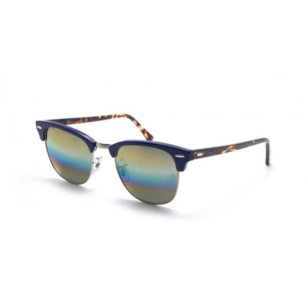6513bc3a8472b Shop RayBan Clubmaster Sunglasses - Blue - Medium - Free Shipping ...