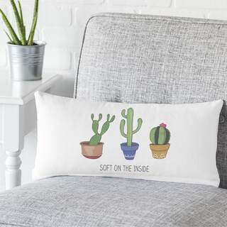 Cactus Lumbar Pillow