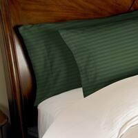 Kotter Home 400 Thread Count Striped Cotton Pillowcase Set