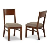 Abbywood Modern Side Chairs by Greyson Living (Set of 2) - 36 inches high x 19 inches wide x 23 inches deep