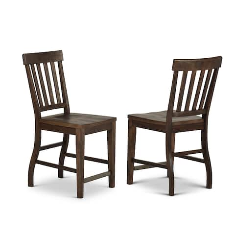 Cottonville Farmhouse Counter Height Chair by Greyson Living (Set of 2)