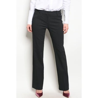 JED Women's Pinstripe Straight Leg Career Pants (More options available)
