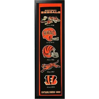 14x37 Pro Football AFC Team Logo Felt Banner with Frame