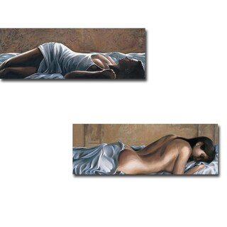 Sognando (Dreaming) & Tenerezza (Tenderness) by Giorigio Mariani 2-piece Gallery-Wrapped Canvas Giclee Art Set