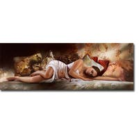 Peaceful Slumber by Ron Di Scenza Gallery-Wrapped Canvas Giclee Art