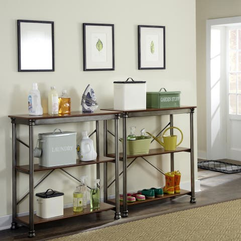 Carbon Loft Kwolek 3-tier Multi-function Vintage Shelves