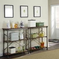 Carbon Loft Donovan 3-tier Multi-Function Vintage Shelves