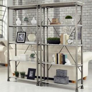 Carbon Loft Kwolek 5-tier Multi-function Marble Shelves