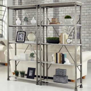 Carbon Loft Donovan 5-tier Multi-function Marble Shelves