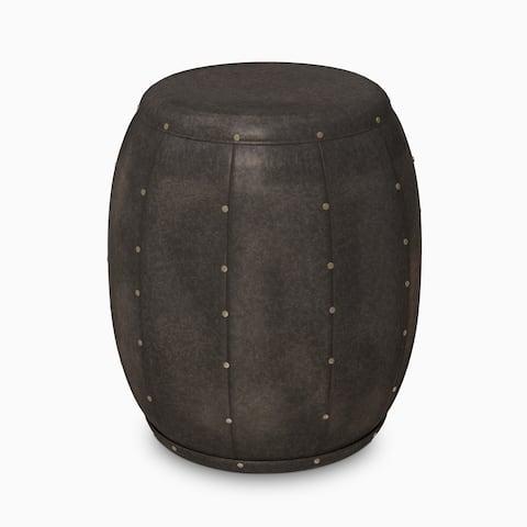 Carbon Loft Stamper Cirque Bronze Metal Accent Drum Table