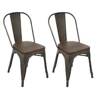 Carbon Loft Boyer Industrial Dining Chair