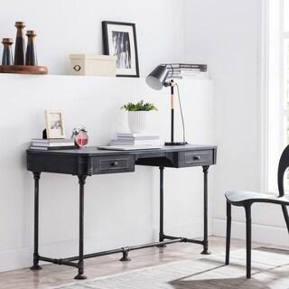 Carbon Loft Laennec Black Steel 48-inch Wide Industrial Black Large