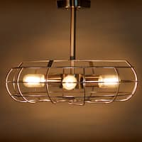 Carbon Loft Hargreaves Industrial Vintage Ceiling Lamp