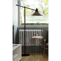 Carbon Loft Daniels Industrial Floor Lamp