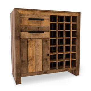 The Gray Barn Cocklebur Reclaimed Wood Wine Cabinet