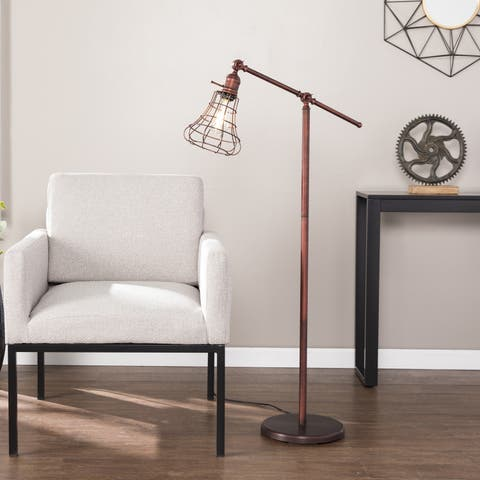 Buy industrial floor lamps online at overstock our best carbon loft hart floor lamp aloadofball Choice Image