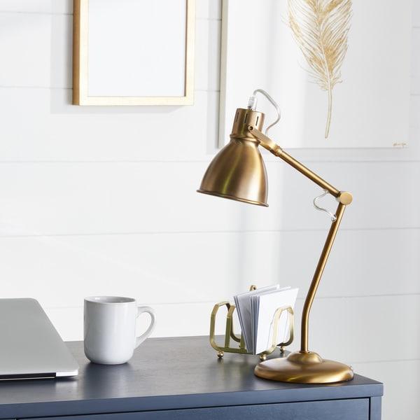 Carbon Loft Walton 18-inch Metal Table Lamp