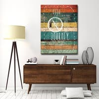 Carbon Loft 'Journey' by Olivia Rose Canvas Art