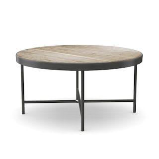 Shop Carbon Loft Cartwright Weathered Grey Oak Coffee And End Table