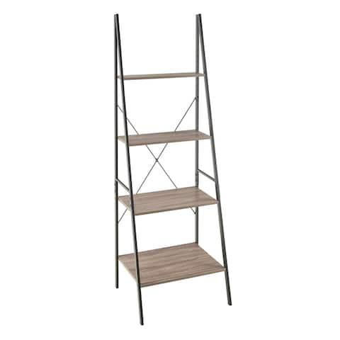 Carbon Loft Morse Industrial Ladder 4-Tier Bookshelf