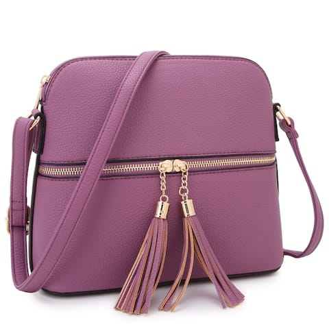 e8c7dcbdf8e1 Buy Purple Crossbody & Mini Bags Online at Overstock | Our Best Shop ...