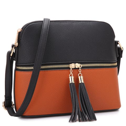 93c711546b68 Buy Brown Crossbody & Mini Bags Online at Overstock | Our Best Shop ...