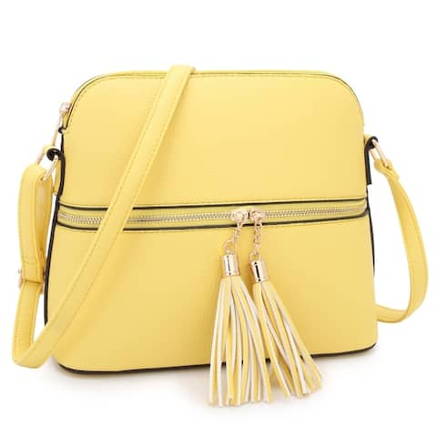 788194d3d6a4 Buy Yellow Crossbody & Mini Bags Online at Overstock | Our Best Shop ...